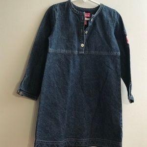 NEW Just Friends Denim Dress Girl size 4